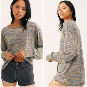 LAST CHANCE Free People Arielle long sleeve top